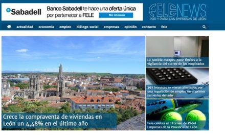 FELENEWS, nuevo portal web enfocado a la economía y las empresas leonesas