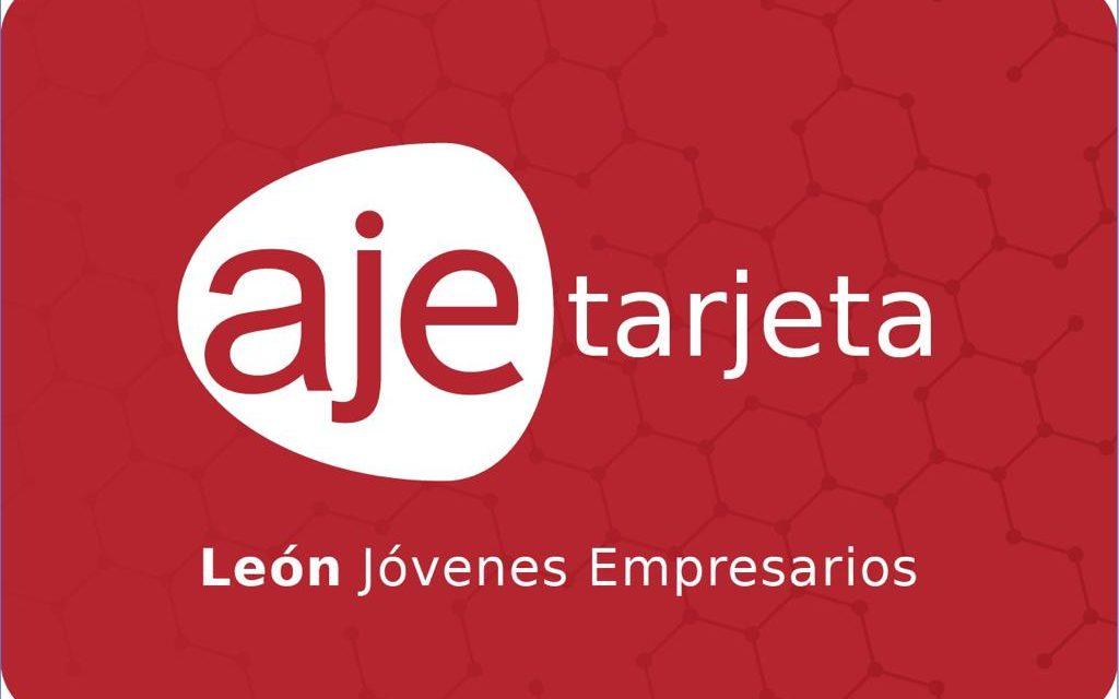 Los jóvenes empresarios lanzan la nueva tarjeta AJE LEÓN