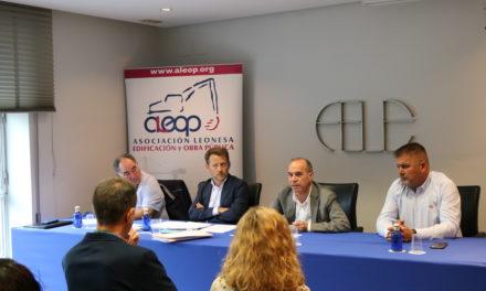 Juan María Vallejo, nuevo presidente de la Asociación Leonesa de Edificación y Obra Pública de León (ALEOP)