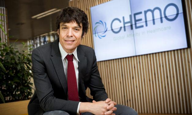 Lucas Sigman, director general de Chemo, Empresario del Año 2019