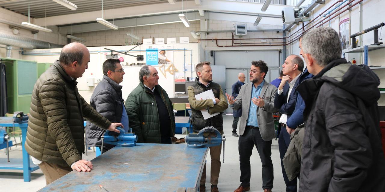 Aleop conoce la oferta de FP del CIFP Tecnológico Industrial de León y promover así esta modalidad entre sus empresas