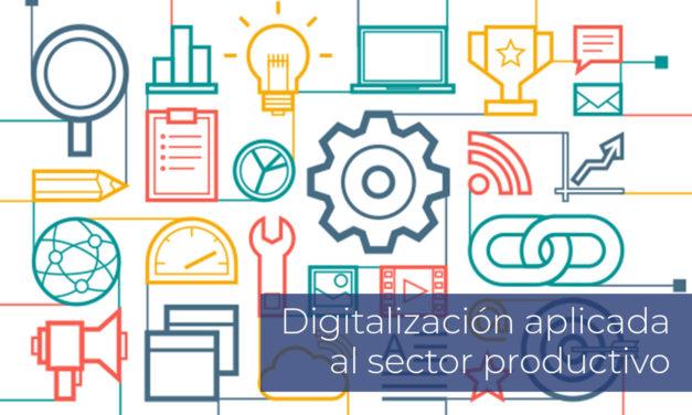 Digitalización aplicada al sector productivo   Inicio 22 de Septiembre